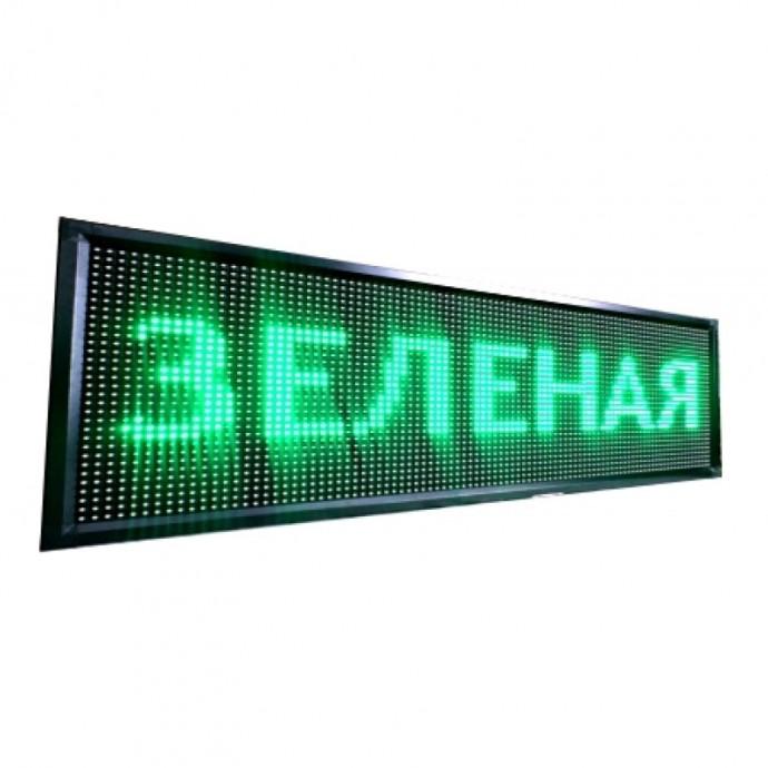Светодиодная строка зеленого цвета 192x32