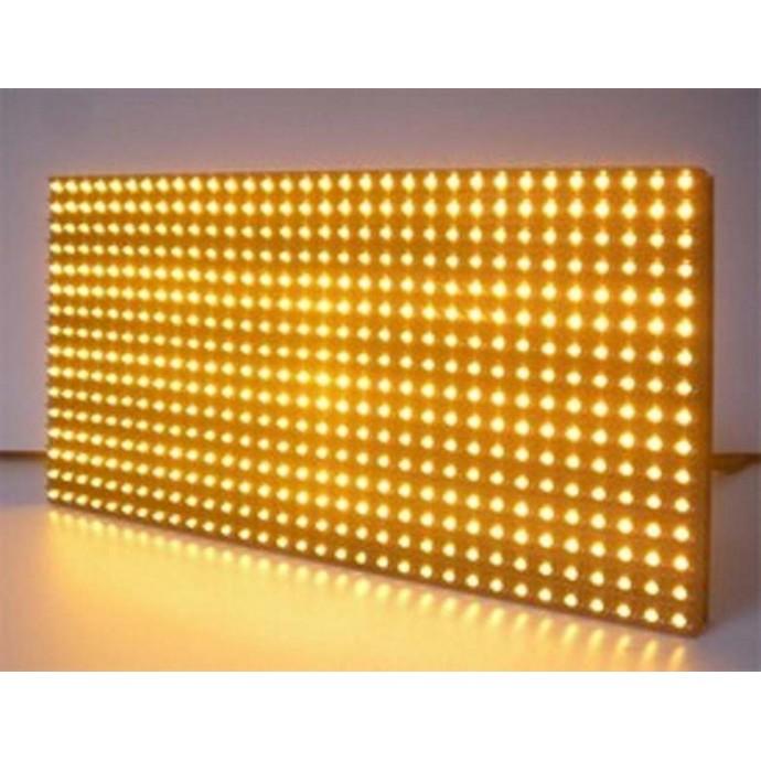 Светодиодный модуль желтого цвета
